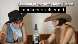 Shootout at the Iron Horse Saloon